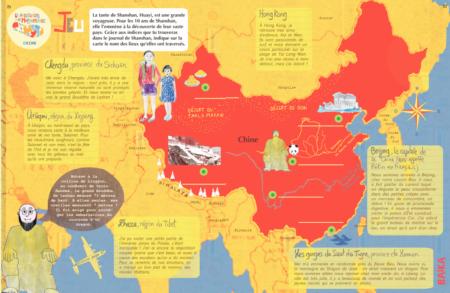 Baïka magazine produit n°14 extrait jeu géographie