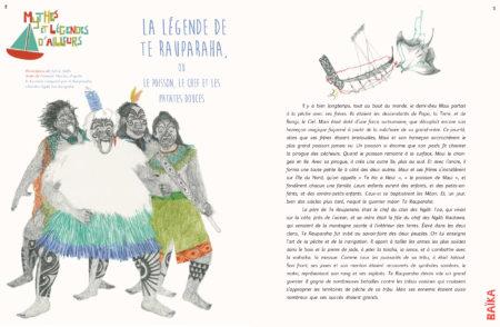 baika magazine produit n°7 extrait légende