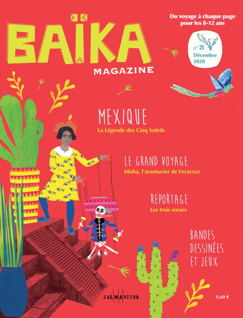 couverture du numéro Mexique de Baïka magazine