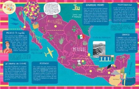 Jeu sur la géographie du Mexique, Baïka magazine