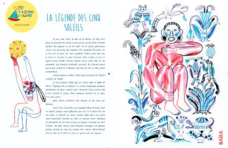 La Légende des Cinq Soleils, extrait du numéro Mexique de Baïka magazine