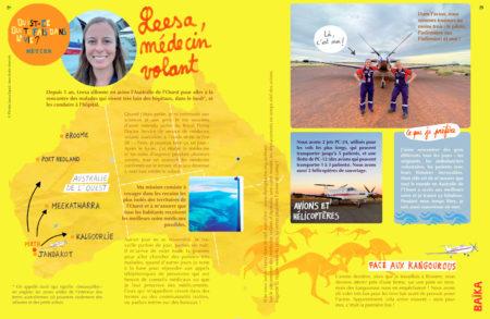 Extrait du numéro Australie, magazine Baïka
